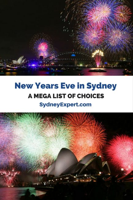 Starting to plan your NYE in Sydney? Then check out this list that covers over 45 options for celebrating New Years Eve in Sydney and covers everything from free vantage points on the harbour to restaurants, parties, harbour cruises and the Sydney Opera House #Sydney #NYE