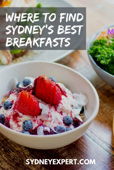 Looking for a delicious breakfast cafe in Sydney?  We asked a bunch of Sydney local bloggers to share their favourites with you.