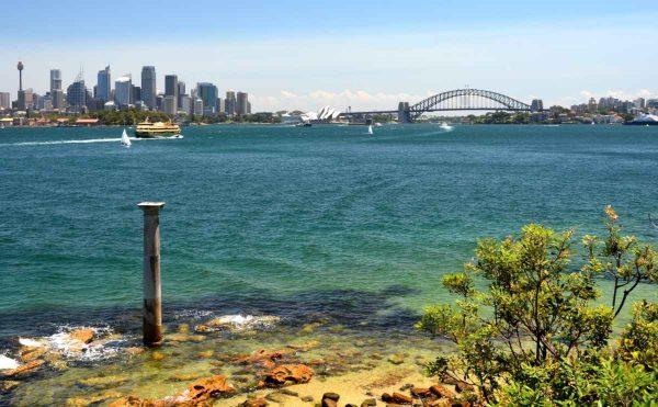 Bradleys Head Harbour View Sydney