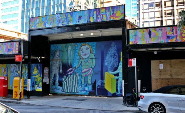 Phillip St Sydney Street Mural