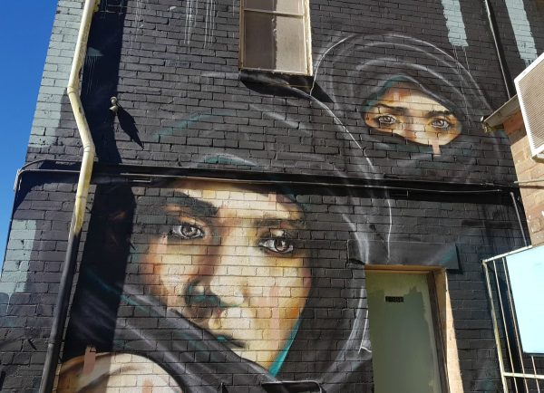 Street Art Blue Mountains Australia - Katoomba