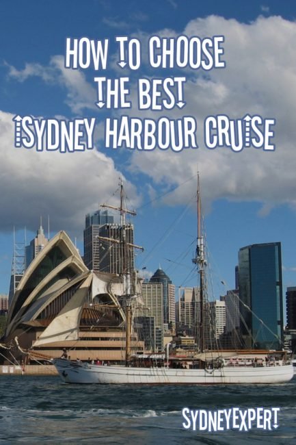 Sydney Harbour is the finest harbour in the world and you really should spend some time sailing on it while you are in they city. You can ride the ferries but I also suggest you check out one of the many different types of harbour cruises on offer. #Sydney #Australia