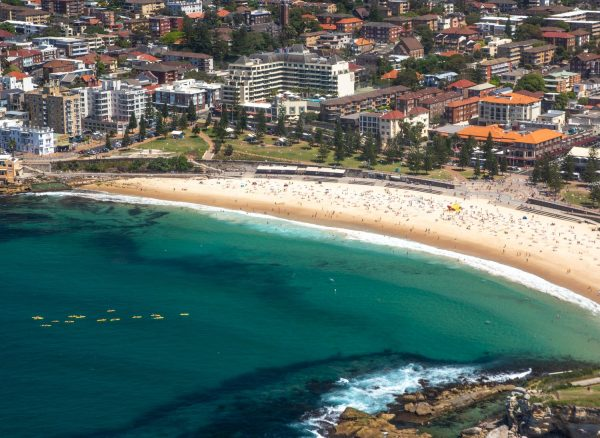 Coogee Beach from above