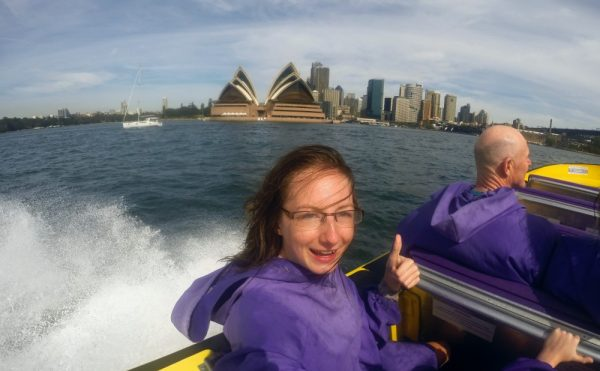 A ride on a Sydney Harbour Jet Boat