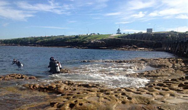 Scuba Diving at Bare Island La Perouse Sydney