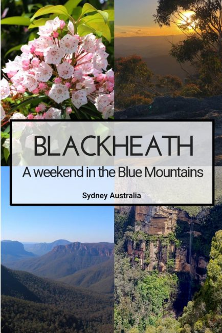 The Blue Mountains north of Sydney deserves a longer visit to really make the most of its walks and dining opportunities. #Sydney #Australia #BlueMountains