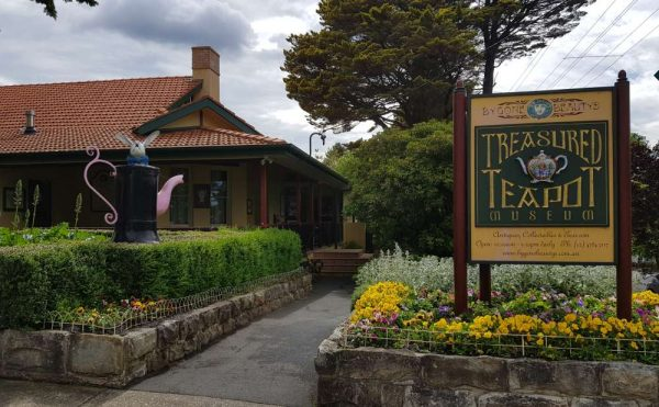 Teapot Muesum Leura Blue Moutains