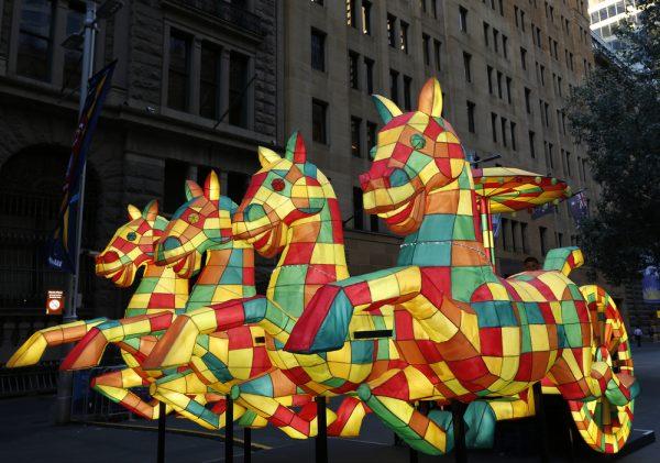Horse Lanern Sydney Lunar New Year