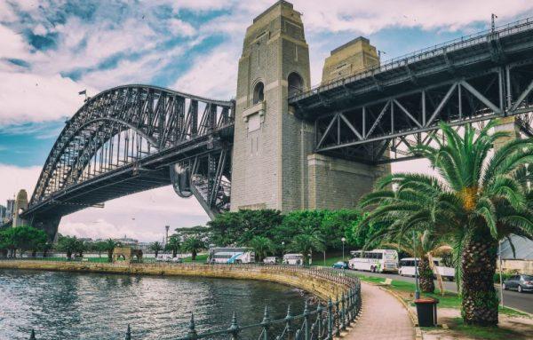 Sydney Harbour Bridge view from Kirribilli