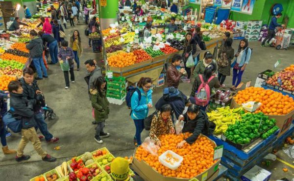 Paddys Market fruit and vegetables Sydney Australia
