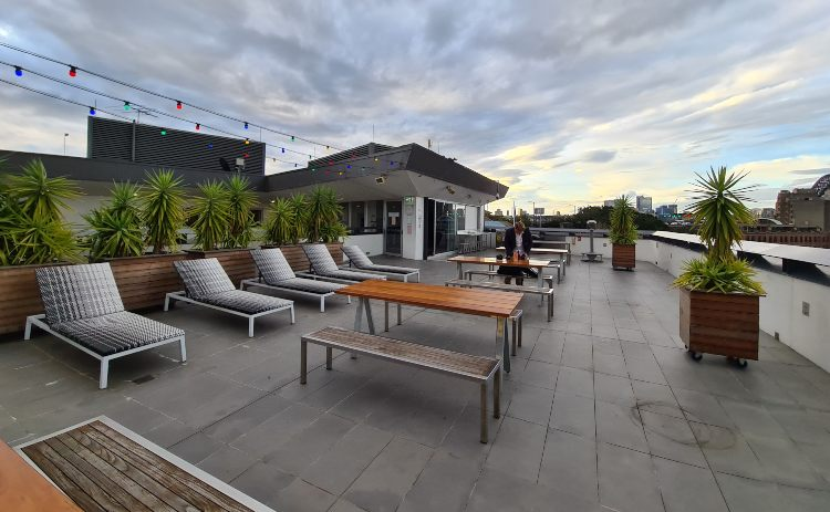 Sydney Harbour YHA roof