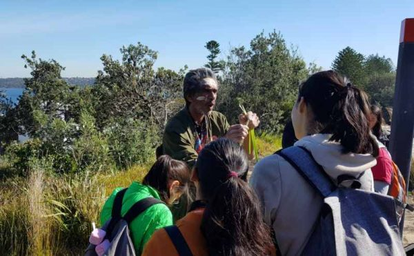 Kadoo tours indigenous tour at Watsons Bay