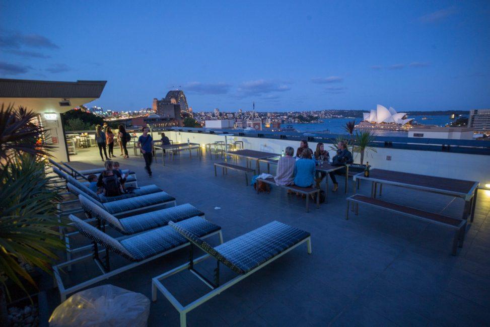Sydney Hostels YHA Sydney Harbour Balcony view