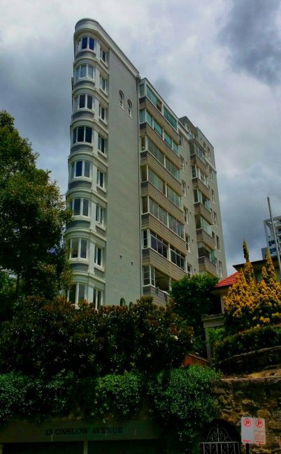 Potts Point Art Deco Architecture Sydney