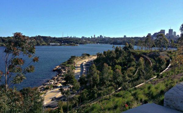 Barangaroo Reserve Sydney Australia