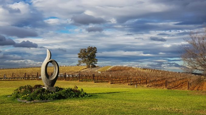 Hunter Valley NSW view at Sabor