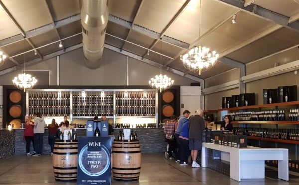Tempus Two tasting room at Roche Estate
