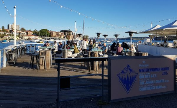 Wharf Bar Manly Sydney Australia