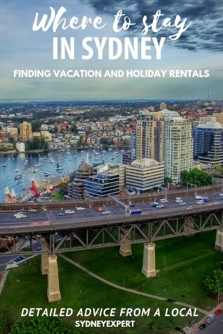 Vacation and holiday rentals in Sydney