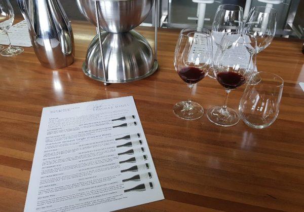Wine tasting at Andrew Thomas Hunter Valley hop 10