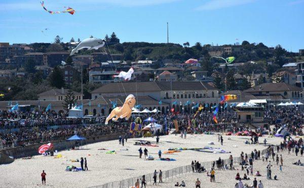 Festival of the winds Bondi Beach Sydney