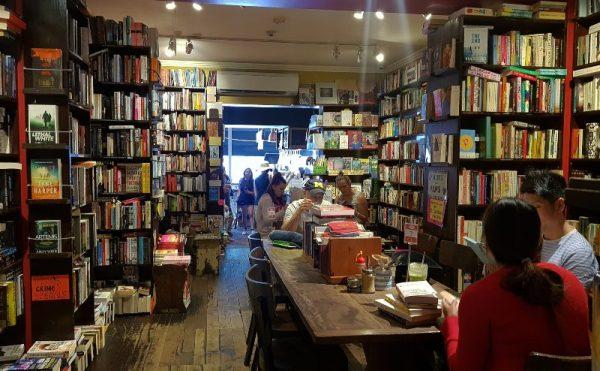 Book shop in Bondi Beach