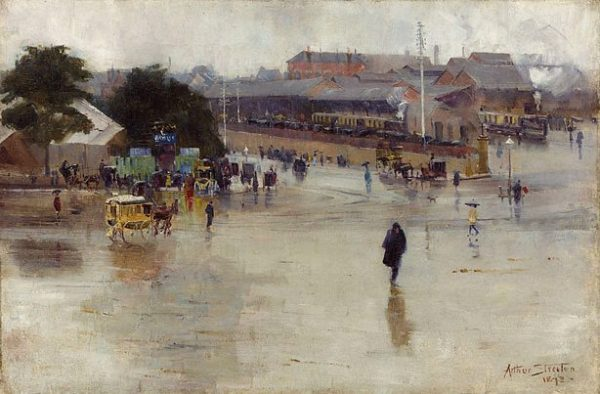 The Railway Station, Redfern, 1893, Art Gallery of New South Wales