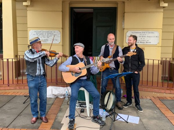 Buskers at Celtic Festival