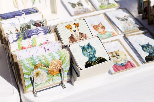 Crafted cards Glebe Artisian Market