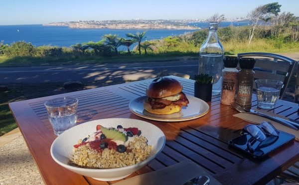Breakfast in Manly at North head Lookout