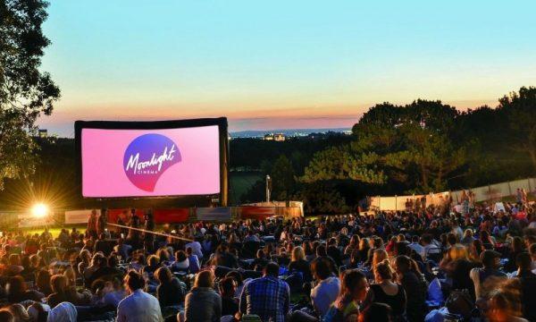 Sydney outdoor cinema Centennial Park Sydney