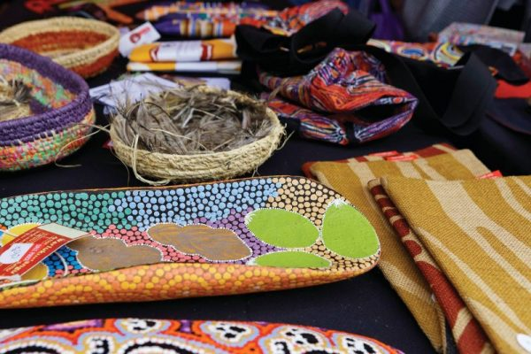 Aboriginal Art design market goods