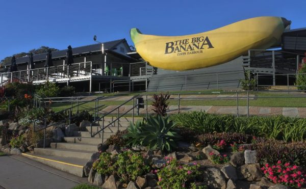 Coffs Harbour main attraction Big Banana