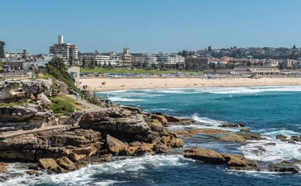 Bondi to Coogee walk view