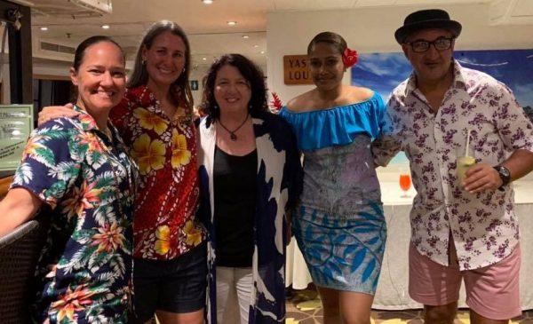 Captain Cook Fiji Cruise passengers