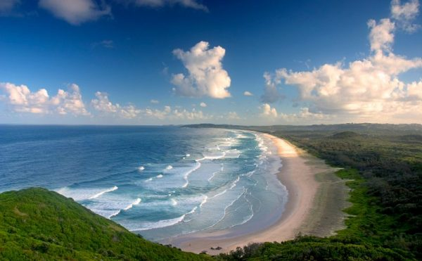 Byron Bay near Kingscliff NSW
