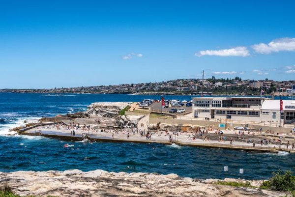 Clovelly Beach safe swim Bondi to coogee walk