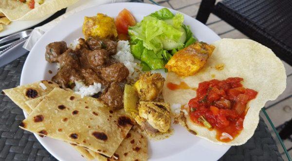 Food on Reef Endeavour Fiji