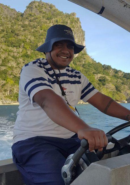 Captain Cook Cruise Fiji Crew