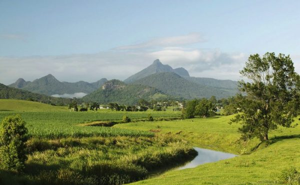 Mount Warning in NSW's Beautiful Tweed Valley