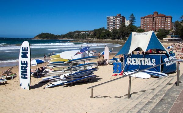 Manly beach hire