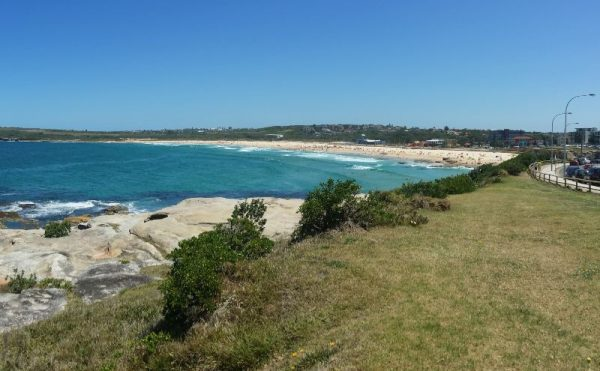 Coastal walk Maroubra Beach Sydney