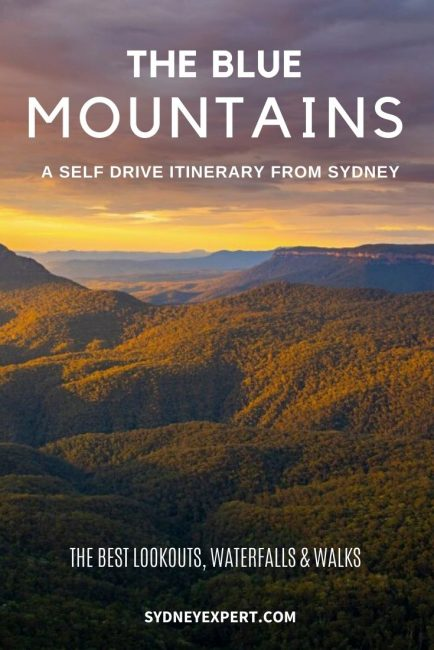 The Blue Mountains - self drive itinerary