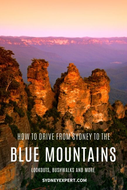 How to drive to the Blue Mountains from Sydney