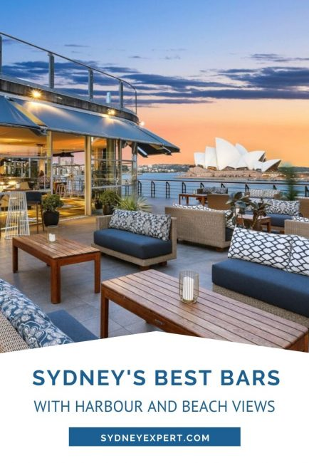 Bars with harbour views
