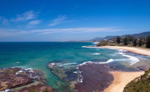 Wollongong Beach South Coast NSW