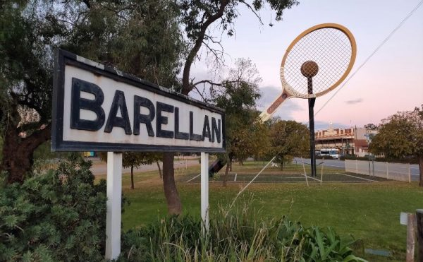 Barallen Tennis Racket Australia Big things