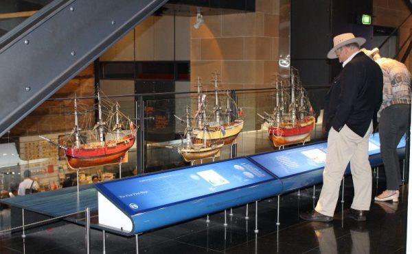 Museum of Sydney First Fleet