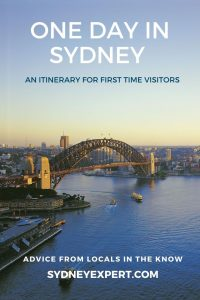 One day in Sydney first time visit