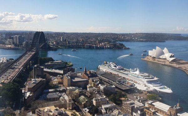 Alittude Restaurant Sydney View